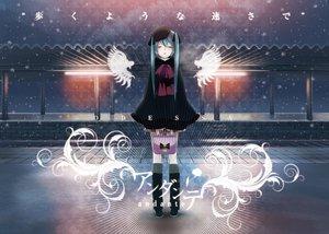 Rating: Safe Score: 109 Tags: hatsune_miku snow vocaloid yonasawa User: FormX