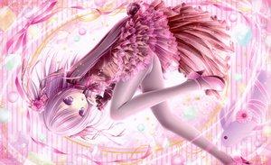 Rating: Safe Score: 236 Tags: loli lolita_fashion panties pantyhose pink purple_eyes purple_hair tinkerbell tinkle underwear User: FormX