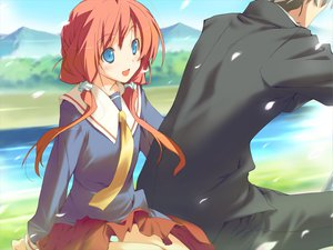 Rating: Questionable Score: 25 Tags: amagahara_inaho favorite game_cg happy_margaret! kokonoka User: 秀悟