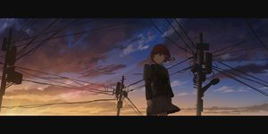 Rating: Safe Score: 31 Tags: clouds dark gh_(chen_ghh) iwakura_lain seifuku serial_experiments_lain sunset User: FormX