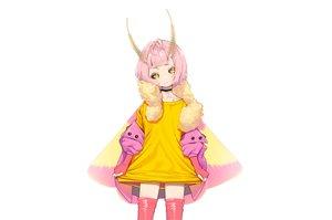 Rating: Safe Score: 32 Tags: agnamore choker gloves loli original pink_hair short_hair thighhighs white wings yellow_eyes zettai_ryouiki User: otaku_emmy