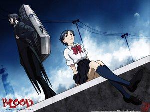 Rating: Safe Score: 8 Tags: blood_(anime) haji otonashi_saya User: Oyashiro-sama