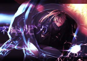 Rating: Safe Score: 79 Tags: blonde_hair original ponytail red_eyes takka vocaloid User: FormX