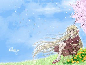 Rating: Safe Score: 9 Tags: chii chobits User: 秀悟
