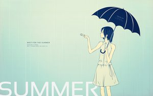 Rating: Safe Score: 46 Tags: polychromatic rain summer tagme umbrella User: Maboroshi