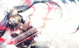 Rating: Safe Score: 58 Tags: aka_tonbo_(lovetow) hatsune_miku hug long_hair tears twintails vocaloid User: luckyluna