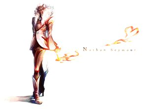 Rating: Safe Score: 8 Tags: all_male boots fire male mochinu nathan_seymour pink_hair tiger_&_bunny User: PAIIS