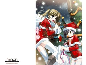 Rating: Questionable Score: 6 Tags: christmas ef hayama_mizuki minori shindou_kei User: lost91colors