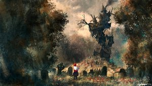 Rating: Safe Score: 168 Tags: building grass original scenic signed tree windmill you_(shimizu) User: Flandre93