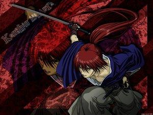 Rating: Safe Score: 7 Tags: all_male himura_kenshin japanese_clothes katana male rurouni_kenshin scar sword weapon zoom_layer User: Nocyta