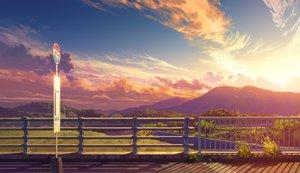 Rating: Safe Score: 76 Tags: bozu_(ogiyama) clouds landscape nobody original scenic sky sunset User: RyuZU
