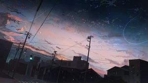 Rating: Safe Score: 93 Tags: banishment building city clouds dark night nobody original scenic sky stars User: BattlequeenYume