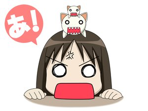 Rating: Safe Score: 19 Tags: azumanga_daioh kasuga_ayumu nekokoneko white User: Oyashiro-sama