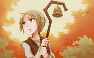Rating: Safe Score: 29 Tags: autumn ayakura_juu brown_eyes brown_hair nora_ardent ponytail spice_and_wolf User: Brynhild