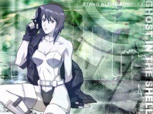 Rating: Safe Score: 6 Tags: ghost_in_the_shell gun kusanagi_motoko weapon User: Oyashiro-sama