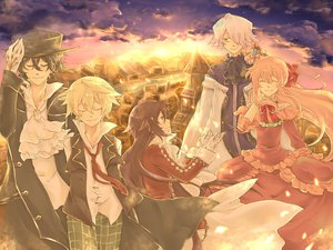 Rating: Safe Score: 7 Tags: alice_(pandora_hearts) emily_(pandora_hearts) gilbert_nightray oz_vessalius pandora_hearts sharon_rainsworth xerxes_break User: HawthorneKitty