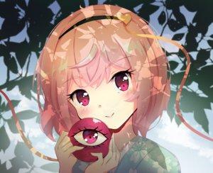 Rating: Safe Score: 42 Tags: blush close headband japanese_clothes kimono komeiji_satori leaves pink_eyes pink_hair shanghaidoll_(artist) short_hair touhou User: otaku_emmy