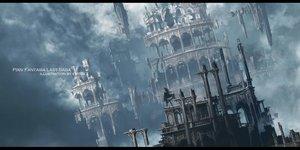Rating: Safe Score: 61 Tags: building city clouds original pixiv_fantasia scenic sky swd3e2 watermark User: RyuZU