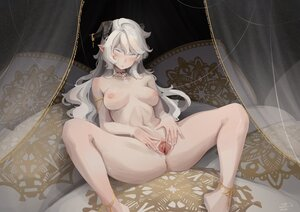 Rating: Explicit Score: 152 Tags: bed breasts ehon-metal horns long_hair nipples nude original pointed_ears pussy spread_pussy uncensored User: BattlequeenYume