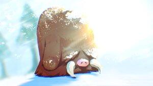 Rating: Safe Score: 7 Tags: close higa-tsubasa nobody piloswine pokemon polychromatic snow User: otaku_emmy