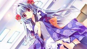 Rating: Questionable Score: 110 Tags: blue_hair game_cg headband izumi_tsubasu japanese_clothes koi_ga_saku_koro_sakura_doki long_hair panties purple_eyes tina_(koi_ga_saku_koro_sakura_doki) underwear User: C4R10Z123GT