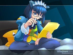 Rating: Safe Score: 20 Tags: 2000 anthropomorphism azumanga_daioh chiyo_father os-tan windows User: Oyashiro-sama
