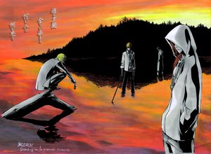 Rating: Safe Score: 24 Tags: all_male bleach kurosaki_ichigo male scan User: Oyashiro-sama