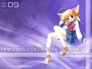 Rating: Safe Score: 7 Tags: nanao_naru rainbow_colored_icecream User: Zero