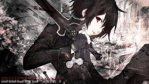 Rating: Safe Score: 205 Tags: black_hair jaehito kirigaya_kazuto red_eyes short_hair sword sword_art_online weapon User: C4R10Z123GT