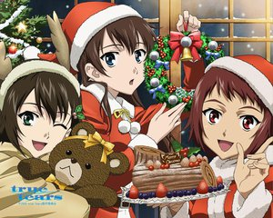 Rating: Safe Score: 20 Tags: ando_aiko christmas isurugi_noe true_tears yuasa_hiromi User: HawthorneKitty
