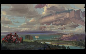 Rating: Safe Score: 100 Tags: aircraft alphonse car clouds landscape original scenic sky water User: Flandre93