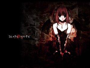 Rating: Safe Score: 24 Tags: amane_misa black cross dark death_note gothic suzuhira_hiro User: Oyashiro-sama
