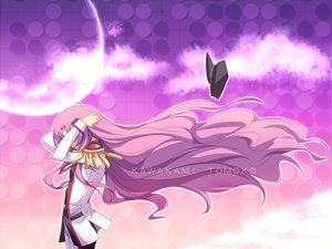 Rating: Safe Score: 60 Tags: air hat kawakami_tomoko long_hair parody pink_hair revolutionary_girl_utena school_uniform shoujo_kakumei_utena tenjou_utena User: opai