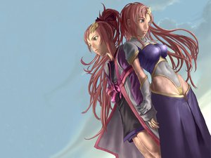 Rating: Questionable Score: 12 Tags: gundam_seed gundam_seed_destiny lacus_clyne meer_campbell User: tatchan