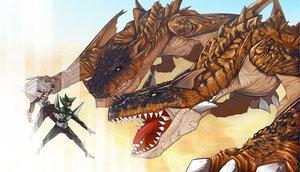 Rating: Safe Score: 14 Tags: ethird monster_hunter tigrex User: lost91colors