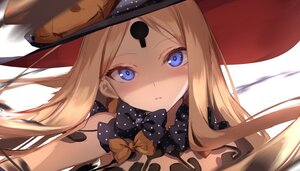 Rating: Safe Score: 57 Tags: abigail_williams_(fate/grand_order) blonde_hair blue_eyes blush bow close fate/grand_order fate_(series) hat loli long_hair sketch spider_apple topless witch_hat User: Maboroshi