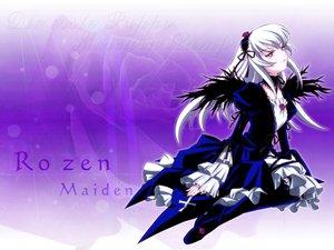 Rating: Safe Score: 8 Tags: goth-loli lolita_fashion long_hair pink_eyes rozen_maiden suigintou white_hair wings User: Oyashiro-sama