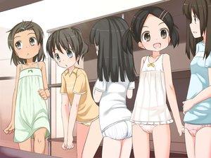 Rating: Questionable Score: 112 Tags: loli original panties shouji_ayumu underwear User: FormX