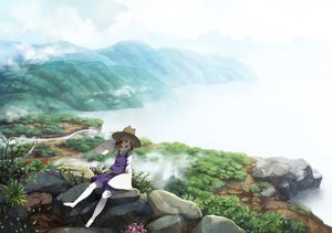 Rating: Safe Score: 75 Tags: moriya_suwako tagme touhou User: opai