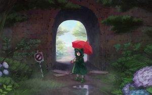 Rating: Safe Score: 46 Tags: esukee original rain umbrella water User: FormX