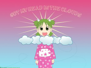 Rating: Safe Score: 7 Tags: japanese_clothes koiwai_yotsuba pink yotsubato! yukata User: Oyashiro-sama