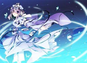 Rating: Safe Score: 63 Tags: butterfly hat japanese_clothes kimono purple_eyes purple_hair saigyouji_yuyuko short_hair touhou t-ray User: Tensa