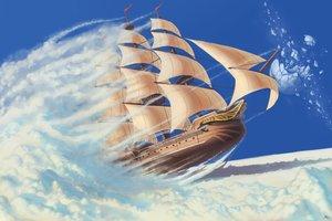 Rating: Safe Score: 91 Tags: airship boat clouds darkmuleth moon nobody original scenic sky User: otaku_emmy