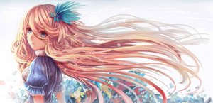 Rating: Safe Score: 123 Tags: blonde_hair blue_eyes dress flowers long_hair nio_(jacky19921205) original User: Flandre93