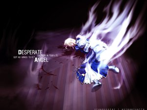 Rating: Safe Score: 21 Tags: black fate/stay_night saber type-moon User: Oyashiro-sama