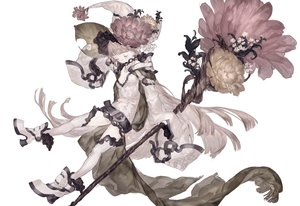 Rating: Safe Score: 54 Tags: flowers hat original ozyako polychromatic witch witch_hat User: FormX