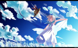 Rating: Safe Score: 48 Tags: minori possible_duplicate sky wind_a_breath_of_heart wings User: porea