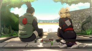 Rating: Safe Score: 72 Tags: animal black_hair blonde_hair headband jpeg_artifacts nara_shikamaru naruto naruto_shippuden ponytail signed sky stairs temari wei User: STORM