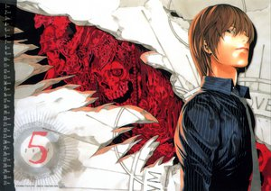 Rating: Safe Score: 45 Tags: all_male calendar death_note male yagami_light User: sxxiaoou