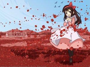 Rating: Safe Score: 30 Tags: dress kino kino_no_tabi petals User: Oyashiro-sama